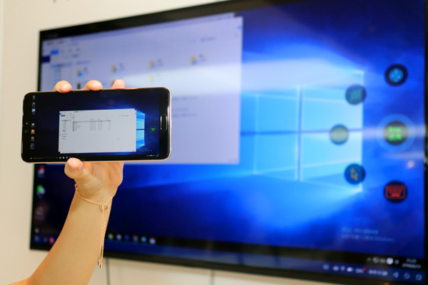 CES Asia 2018:华为云电脑服务让你的手机秒变强力PC