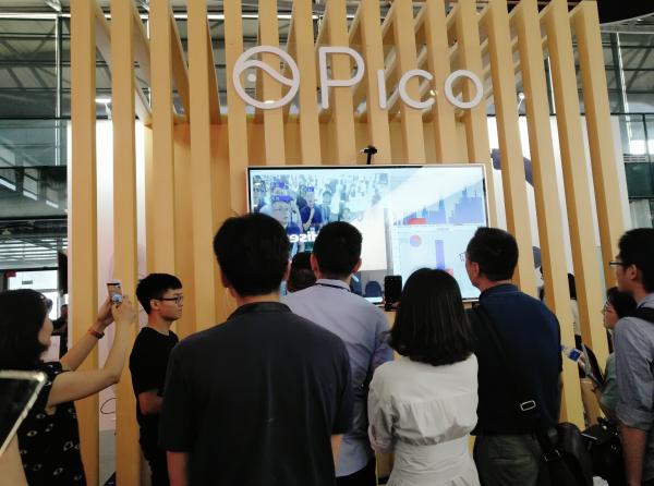 CES Asia 2018:Pico展出VR社交影院,提升多人观影互动性