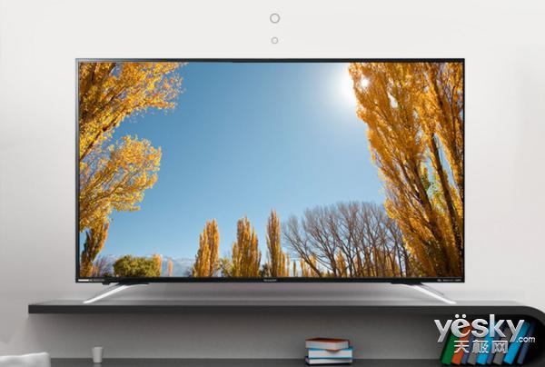 超清4K+1年影视会员 夏普50寸智能电视大促直降600元