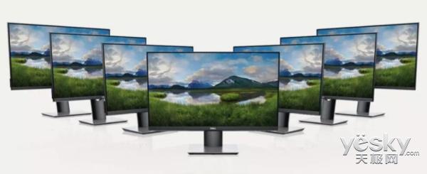 戴尔全新P系列显示器即将上市,力求为用户带来更加高效体验