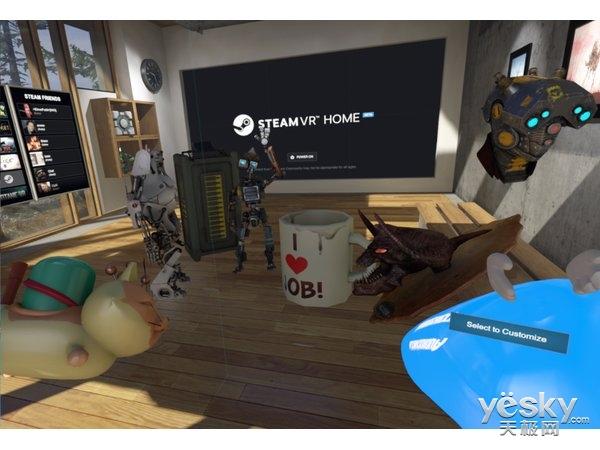 这些游戏已加入steam VR Home收藏品!