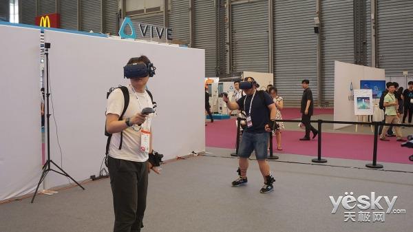 MWCS2018:走近HTC展区,这里不仅有VR