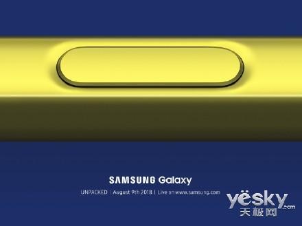 三星Galaxy Note 9就长这样了,五种配色,S Pen将成最大亮点