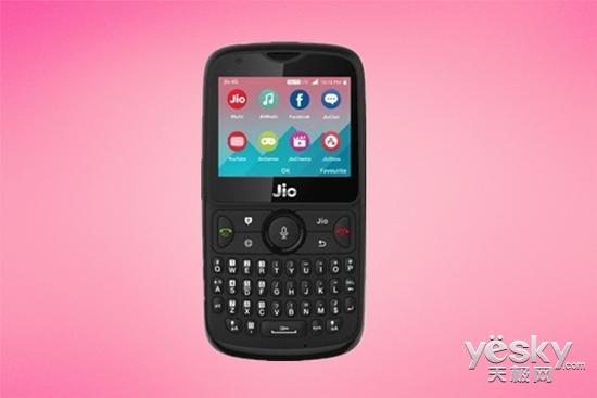 印度神机JioPhone 2发布:外观神似黑莓,售价约289元