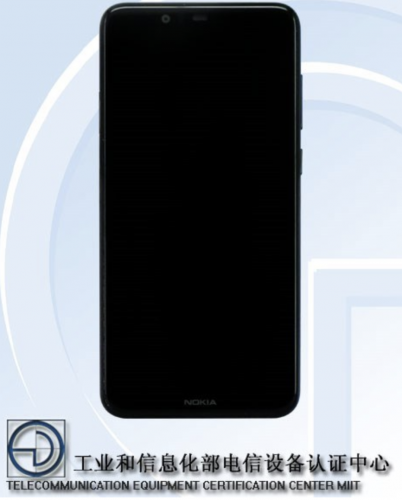 低配版X6?诺基亚X5曝光:联发科P23芯片+刘海屏