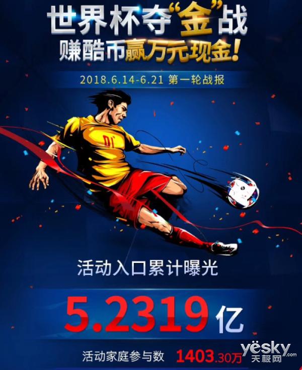 酷开网络2018世界杯足球之夜 成都站引爆燃情盛夏