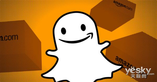 """""""阅后即焚""""Snapchat将与亚马逊合作推出扫码搜索商品的功能"""