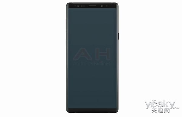 三星Note 9真机渲染图曝光:外观变化不大,内部提升明显