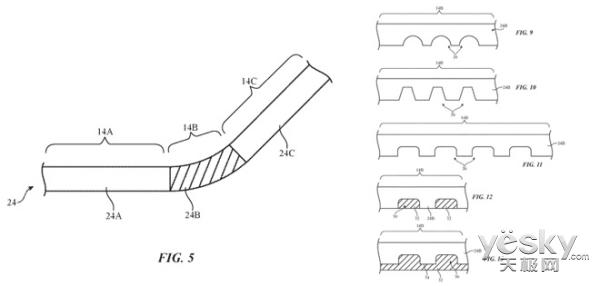 苹果新折叠屏专利曝光:三星和他的OLED屏或成最大受益者