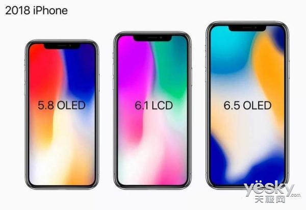 敲定!LG Display将为2018款iPhone X提供LCD和OLED屏幕
