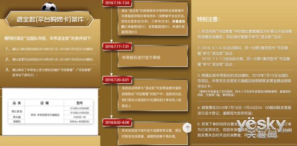 """华帝成世界杯营销大赢家  线上""""退全款""""六成来自京东"""