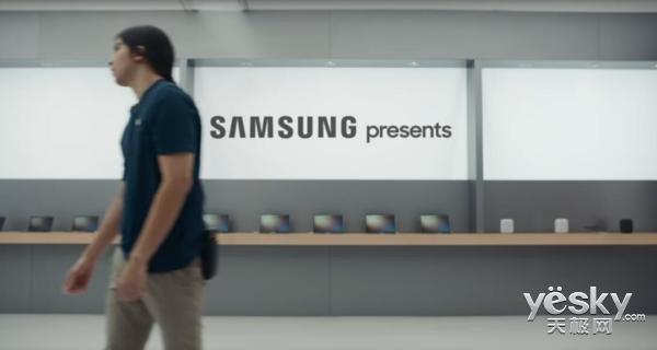 三星新广告又来怼苹果了:iPhone X下载速度不如三星Galaxy S9
