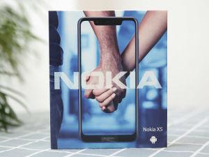 简约圆润夏日难得一股清凉 Nokia X5开箱图赏