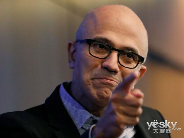 云业务的高歌猛进 助推微软营收破千亿美元
