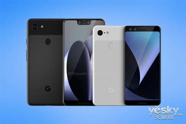 谷歌Pixel 3 XL手机壳曝光,前置双摄+后置单摄
