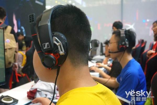 Sennheiser沉浸式游戏音频设备亮相ChinaJoy