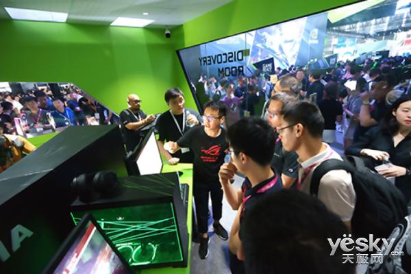 ChinaJoy 2018:华硕显示器的出境频率有点高啊!