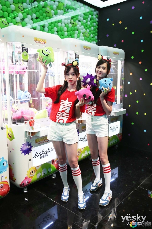 萌系攻系全养成,2018CJ巨人网络ShowGirl天使PK小恶魔!