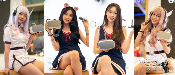 Pico小怪兽2 VR一体机亮相ChinaJoy