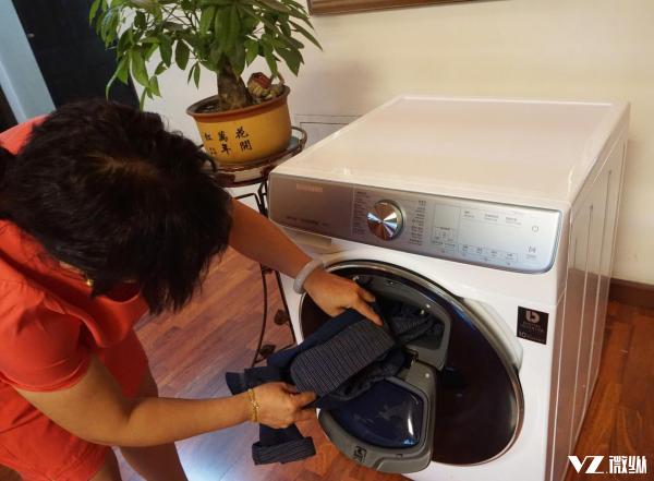 搭载双动力速净科技 三星智慕・多维双驱洗衣机评测