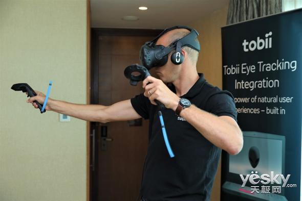 ChinaJoy 2018:Tobii展示眼球追踪技术,游戏还能这样玩?