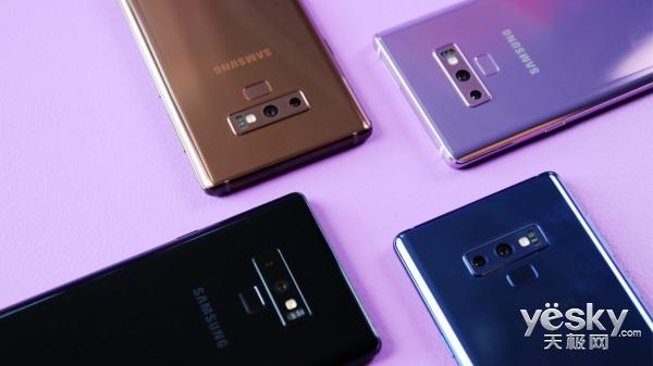三星Galaxy Note 9与Note 8对比:细节变化有点多