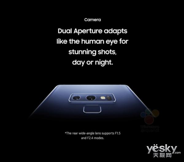 三星Note 9 发布前夕信息全面曝光  还有惊喜吗