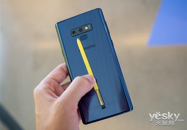 外媒上手三星Note9:大屏幕大电池,S Pen点睛之笔获赞