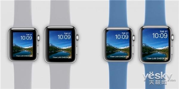 苹果Apple Watch 4细节曝光:屏幕更大,新增健康功能