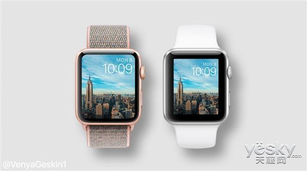 苹果最新一代Apple Watch完全曝光:大,不一样