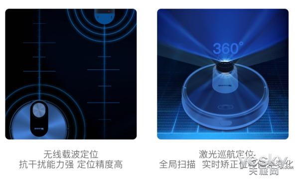 首发优惠多 浦桑尼克LDS M6激光导航更精准
