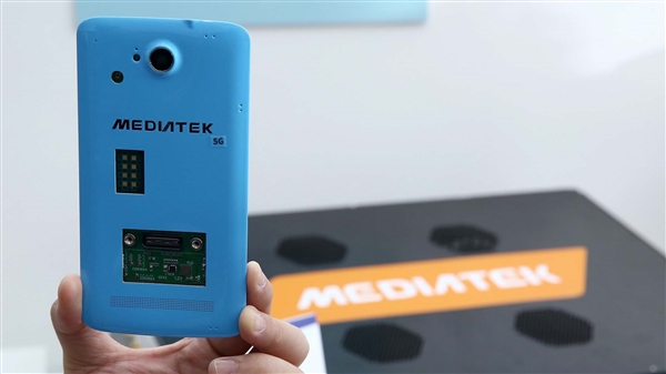 联发科首度展示5G原型机,散热风扇亮了