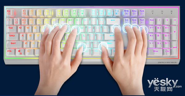 """大胆发光,机械师笔记本""""耀""""系列机械键盘了解一下"""