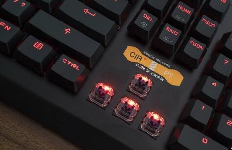 法米尖锋血弹键盘开箱评测:源于网咖却高于网咖