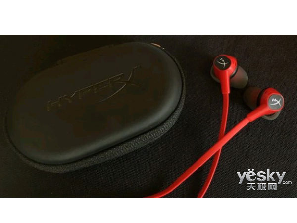 轻灵舒适!HyperX Cloud Earbuds云雀入耳电竞耳机上市