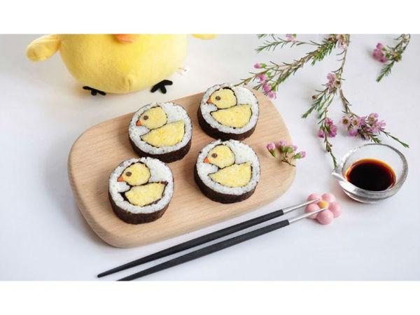 极客美食:电蒸锅巧做健康绿色减肥低卡寿司