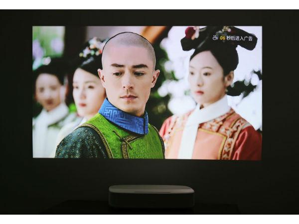 极米激光电视皓・LUNE 4K评测:影音出色,白天观看无压力