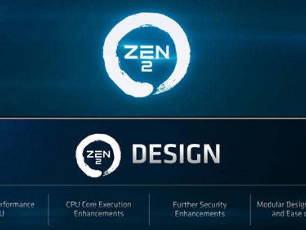 AMD公布Zen2架构:7nm加持吞吐能力翻倍