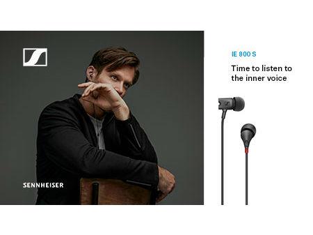 SENNHEISER全新专业入耳式耳机增强监听声音