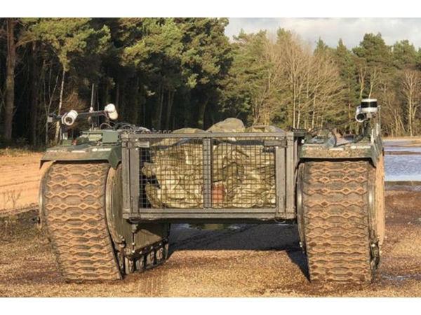英军举行机器人演习,AI或将成为未来战场的重要力量!