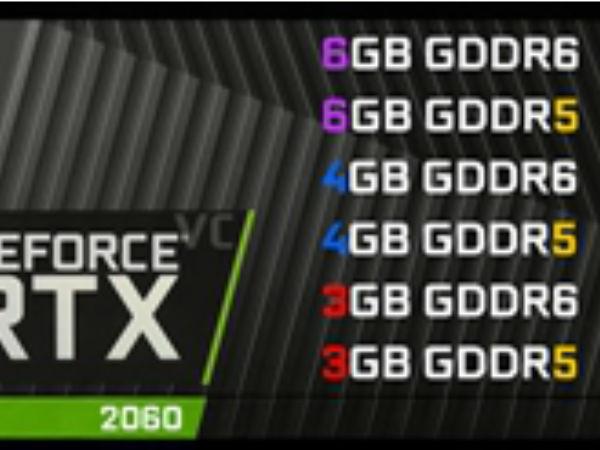 """""""猪队友""""曝光RTX2060显卡:或配备6G GDDR6"""