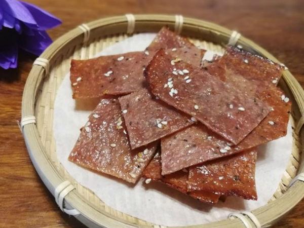 极客美食:咸香可口—电烤箱版蜜汁猪肉脯