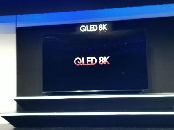 CES2019三星推出5款8K电视,最大尺寸达98英寸