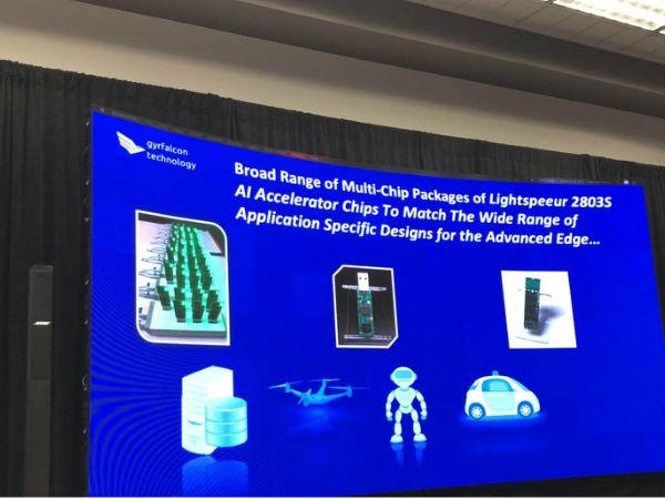 从边缘到云的最有效的AI   Gyrfalcon科技公司(GTI) CES展会发布会