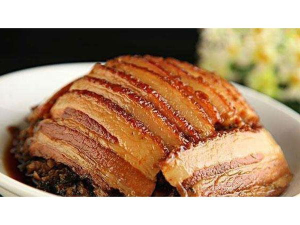 极客美食:春节家常菜—电蒸锅版梅干菜扣肉
