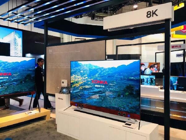 康佳8K电视闪耀CES 自主图像芯片奠定科技创新之路