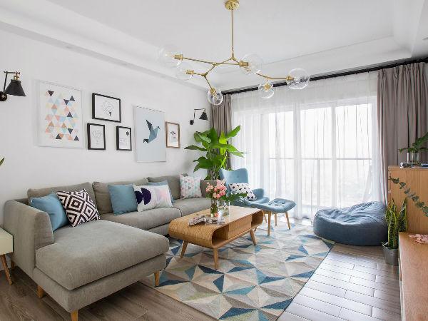 几十款北欧风格的客厅任你选   总有一款能入你的眼~