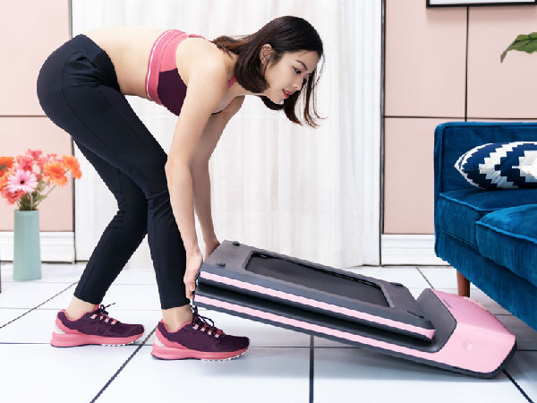 首款为女性设计的健身单品 WalkingPad走步机粉色限量版发布