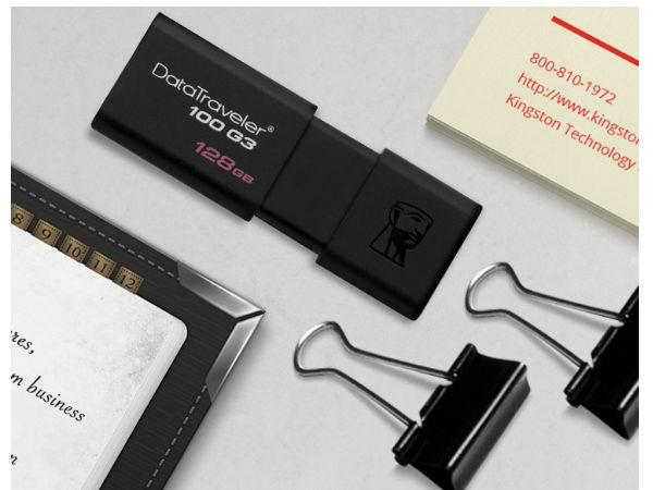 金士顿 DataTraveler 100 G3 USB 闪存盘售价