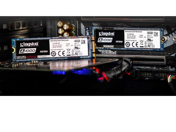 高性价比固态 金士顿A1000固态硬盘售价569元